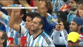 Argentina National Anthem - WORLD CUP 2014