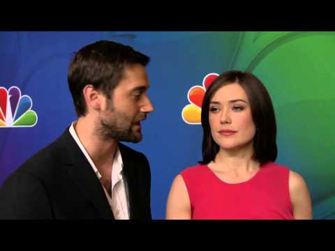 The Blacklist: Ryan Eggold & Megan Boone NBC Upfronts TV Interview