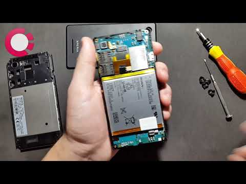Sony Xperia E3 - Trocando Tela, Placa ou Câmera ( Desmontagem ) - Blackmobile.com.br