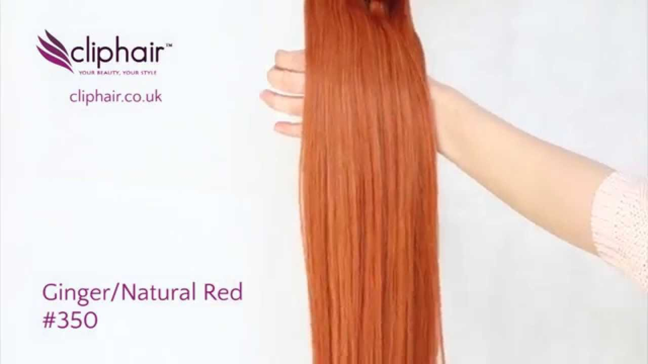 Colour 350 Gingernatural Red By Cliphair Youtube