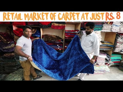 Wholesale And Retail Market Of Carpet In Delhi | Cheapest Carpet Market | Vlog 30th