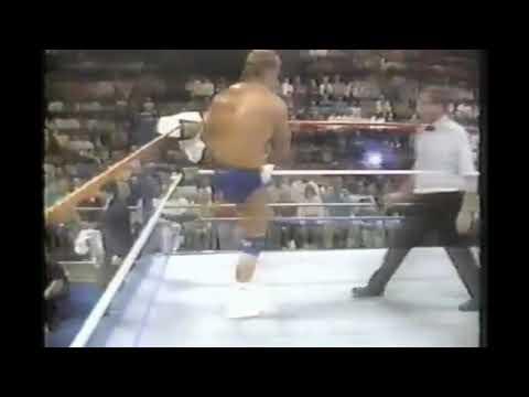 Mr Perfect vs Jobber Nelson Veilleux WWF Superstars 1989