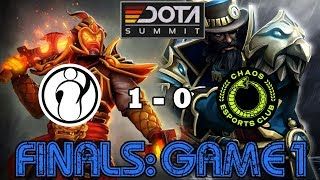 Invictus Gaming vs Chaos Esports | Finals Game 1 Highlights | Dota Summit 11