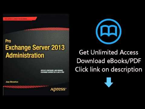 Pro Exchange Server 2013 Administration Pdf