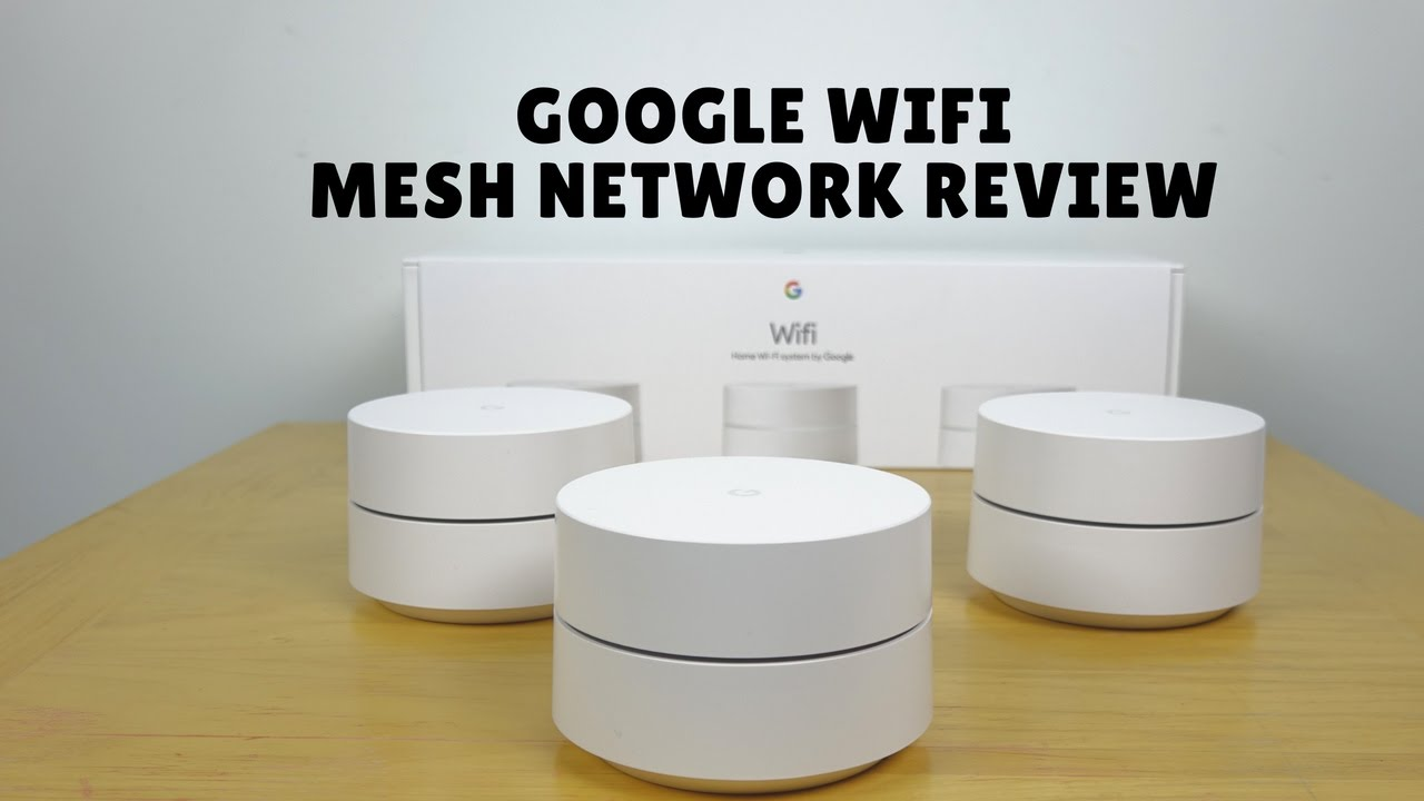 Google Wifi Mesh Network Setup & Review