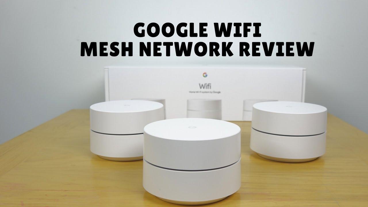 Google Wifi Mesh Network Setup Amp Review Youtube