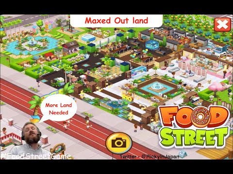 Food Street - A Maxed Out Land User and Cool Design