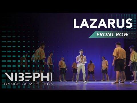 LAZARUS | VIBE PH II [@AyelMari Front Row 4K] | #VIBEPH