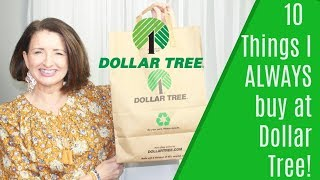 Download 10 Things I Always Buy at Dollar Tree! Mp3 and Videos