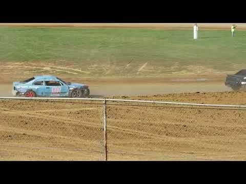 Brownstown Speedway Funfest hornet heat 4 10-13-18