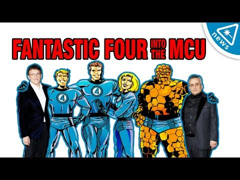 Are the Russo Bros Taking the Fantastic Four into the MCU?!? (Nerdist News w/ Jacki Jing)