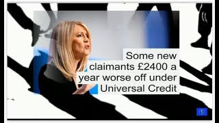 Austerity bites Independent report finds Universal Credit switch will cost families 200 per month