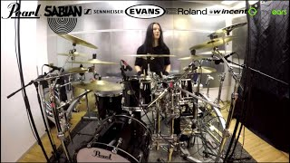 Waltteri Väyrynen: Bodom After Midnight - Paint the Sky with Blood (drum playthrough)