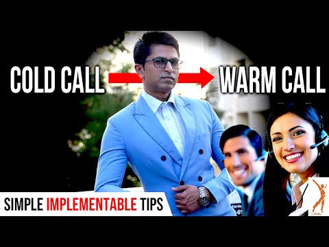 How to Convert Cold Call to Warm Call and get a LEAD? || Sales Mastery