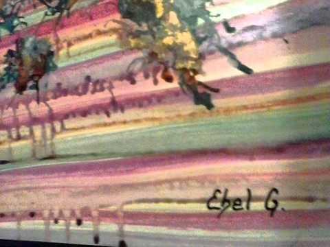 Pintura Calderón símbolo musical artEbe