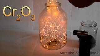 Chemical Volcano and Fire Blizzard with Chromium Oxide! thumbnail