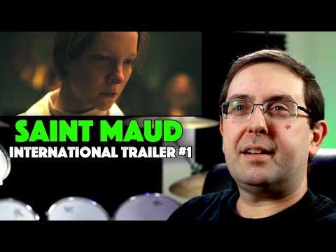 REACTION! Saint Maud International Trailer #1 – Morfydd Clark Movie 2020