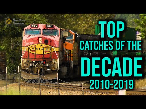 Rowan's Top Catches Of The Decade |  2010-2019  |  Railfan Rowan