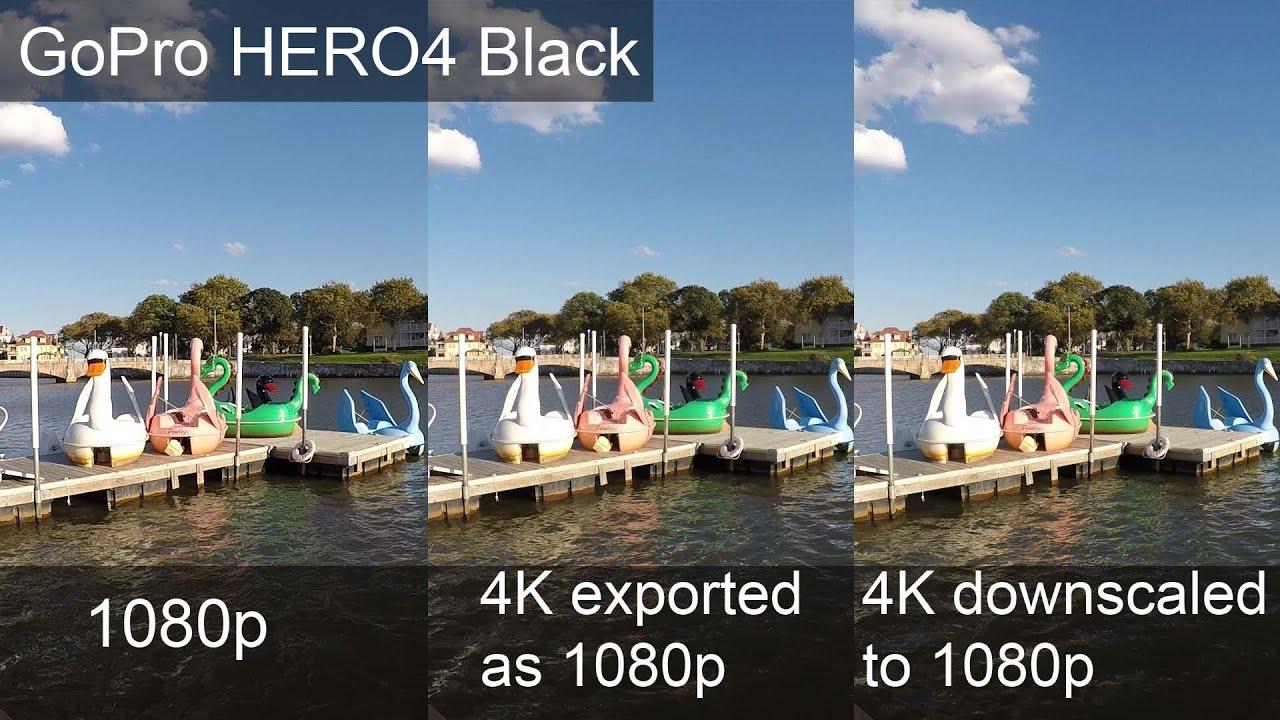 GoPro HERO4 Black 4K vs 1080p Sharpness Test - Jeremy Sciarappa