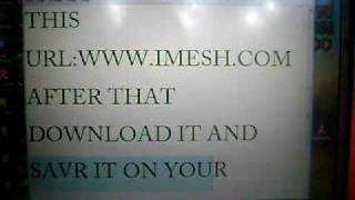 how to install imesh on your pc
