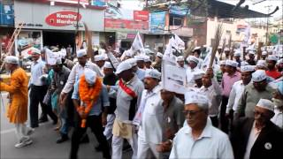 On the way to file nomination as AAP Tehri LokSabha Candidate (16 Apr, 2014)