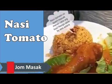 Nasi Tomato Cara Orang Tua2 Vs Ayam Masak Merah Resipi Alele By Eira Aziera Youtube