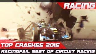 Racing crash compilation best of 2016 top crashes!