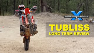 TUbliss tubeless tire system for dirt bikes: a long-term test review