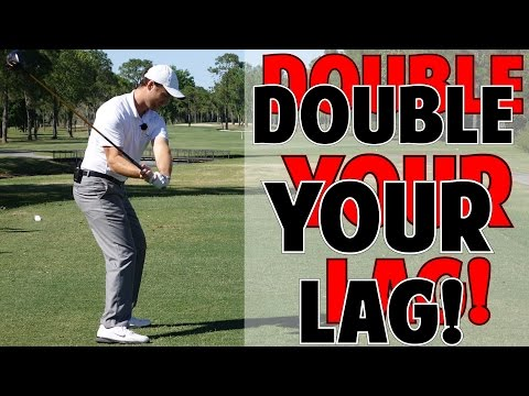 DOUBLE YOUR GOLF SWING LAG WITH THIS DRILL