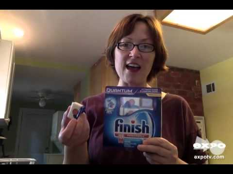 Finish Quantum Dishwasher Detergent Review