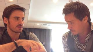 SDCC 2013 Once Upon a Time Michael Raymond-James and Colin O'Donoghue Interview! Thumbnail