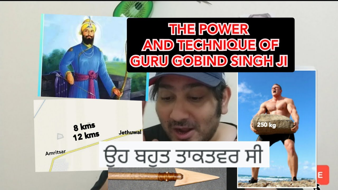Pakistani Bhai Reacts on Guru Gobind Singh Ji De Teer || Great Strength And Accurate On Target