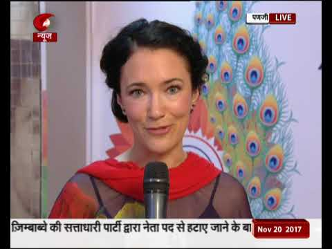 April Mullen, actress from Canada, speaks on IFFI 2017