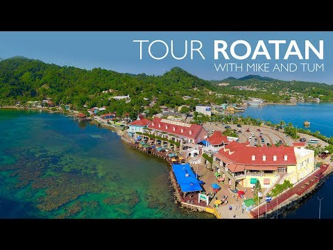 Roatan Honduras Tour with Monkeys, Sloths and Snorkeling West Bay/Tabyana (Victor Bodden Tours)