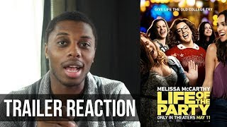 Life of the Party Trailer #2 Reaction