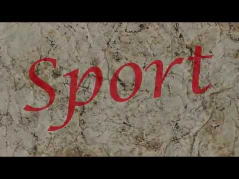 Sport Text Animation