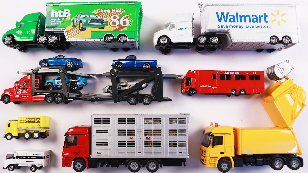 learn different types of trucks for kids children toddlers babies educational toys for kids. Black Bedroom Furniture Sets. Home Design Ideas