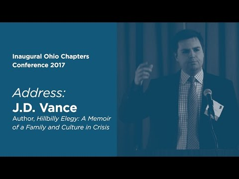 Inaugural Ohio Chapters Conference Keynote Address by J.D. Vance