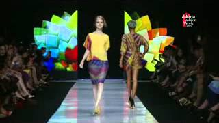 Alleira Batik Fashion Show at Jakarta Fashion Week 2013 / 2014 - Sequence 1