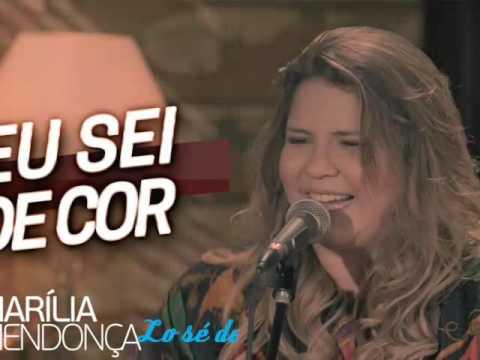 Eu sei de cor Marilia Mendonça Sub español.