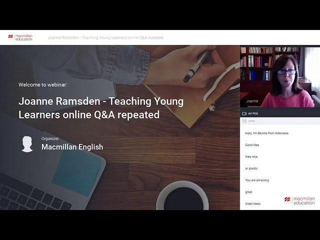 Teaching Young Learners online