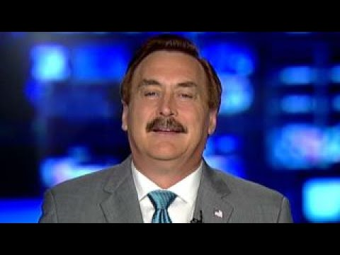 Mypillow Founder Mike Lindell Meets With President Trump