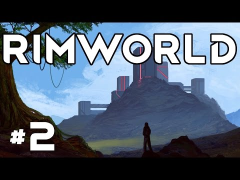 RimWorld Alpha 16 - Ep. 2 - Freezer Expansion! - Let's Play RimWorld Alpha 16 Gameplay