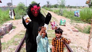 Shaitan Vs boys   New Social Awareness Video   Shaitan Vs Train