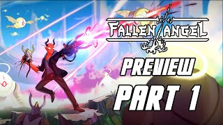 Fallen Angel Preview - Gameplay Walkthrough Part 1 (No Commentary, PC)
