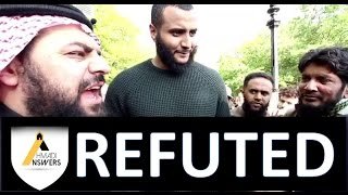 Mohammed Hijab REFUTED by Ahmadi Muslim (Qadiani) - Speakers Corner