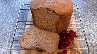 ХЛЕБ пшенично-ржаной в хлебопечке Рецепт вкусного ХЛЕБА из трех сортов муки Домашняя выпечка