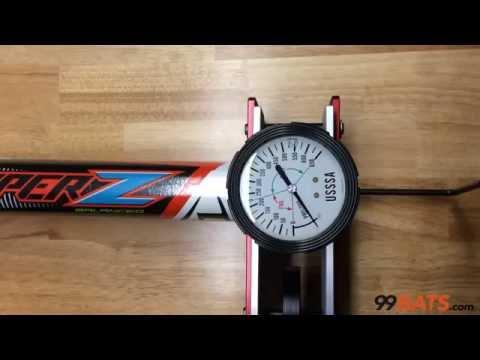 b12689fa489 Louisville Slugger 2016 Super Z USSSA Balanced Slowpitch Softball Bat -  Compression Test
