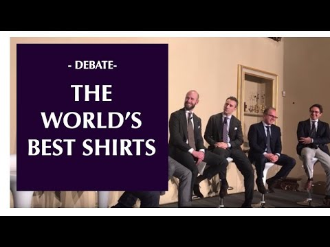 The Shirtmakers Symposium - debate in Florence
