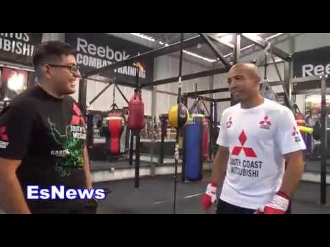 Jose Aldo and Robert Garcia In The Gym Talk Mayweather vs McGregor  EsNews Boxing